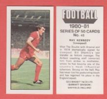 Liverpool Ray Kennedy 48